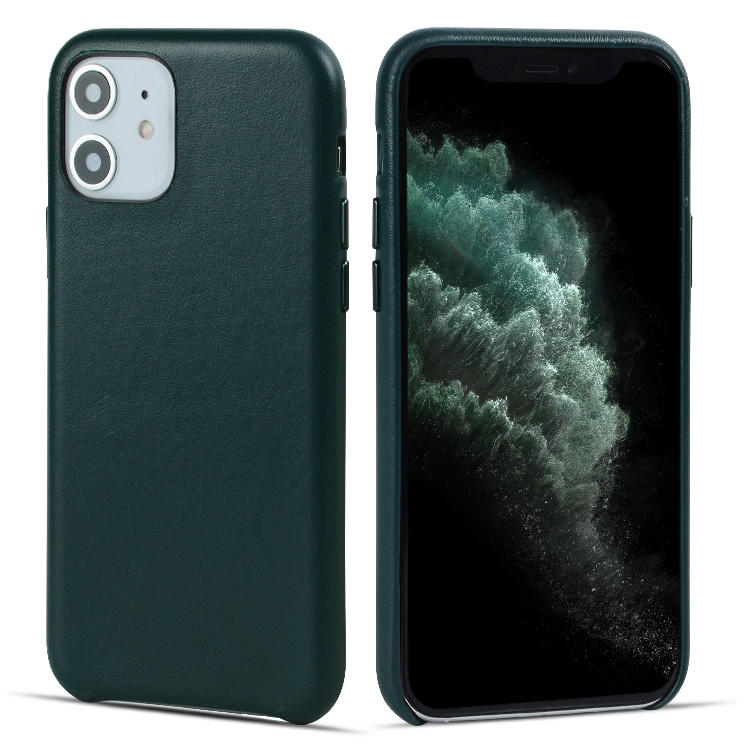 2019 New PU Leather Case For iPhone 11 Mobile Phone Cover With independent Metal Button iPhone 11 Leather Case