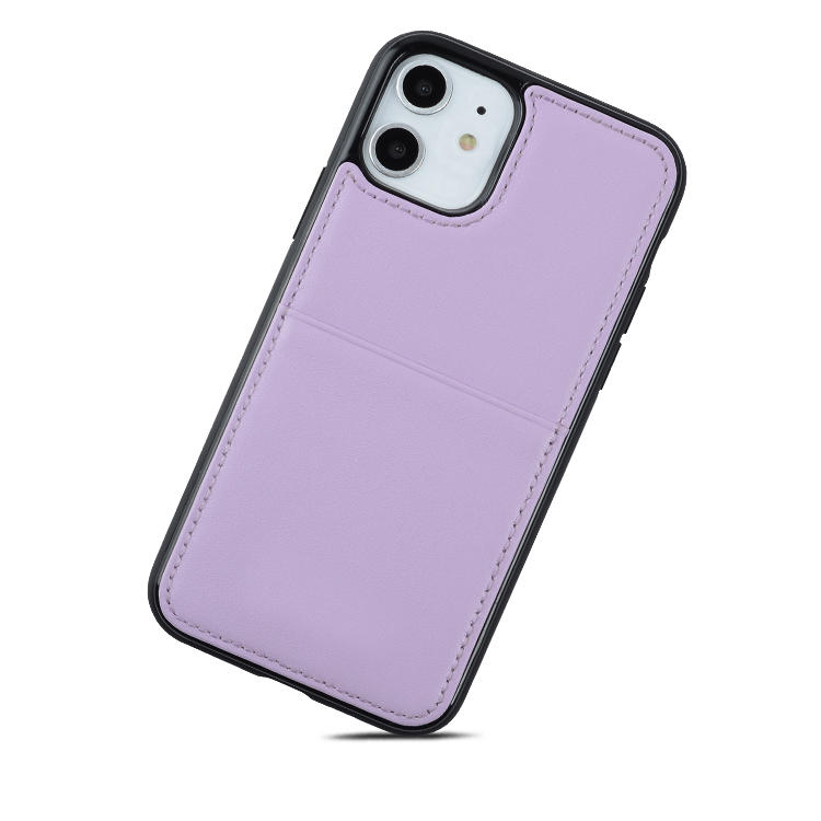 For iPhone 11 Case Cover Custom PU Leather Phone Case for iphone 11