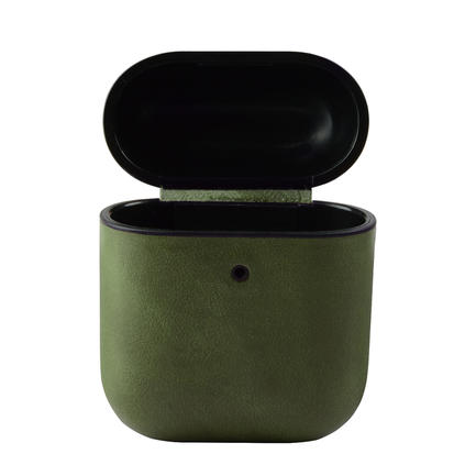 For AirPods Genuine Leather headphones holder , OEM/ODM Color Charging Holder Headphones Accessories