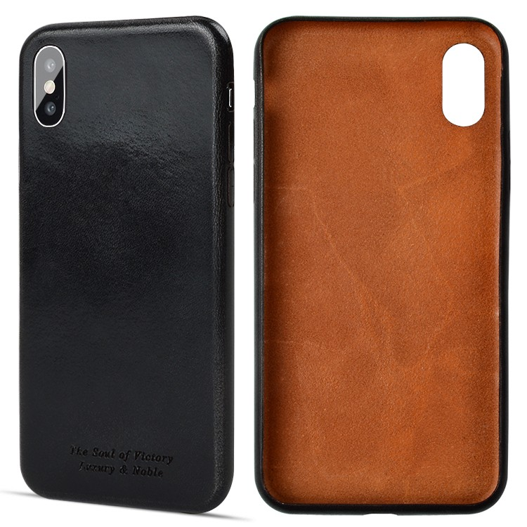 protective quality leather phone cases protector for iphone X-2