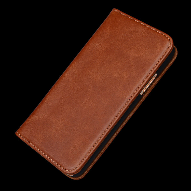 AIVI apple tan leather case supply for iphone 7/7 plus-2