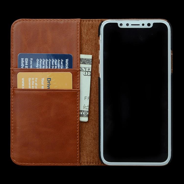 AIVI durable apple original leather case protector for iphone 8 / 8plus-4