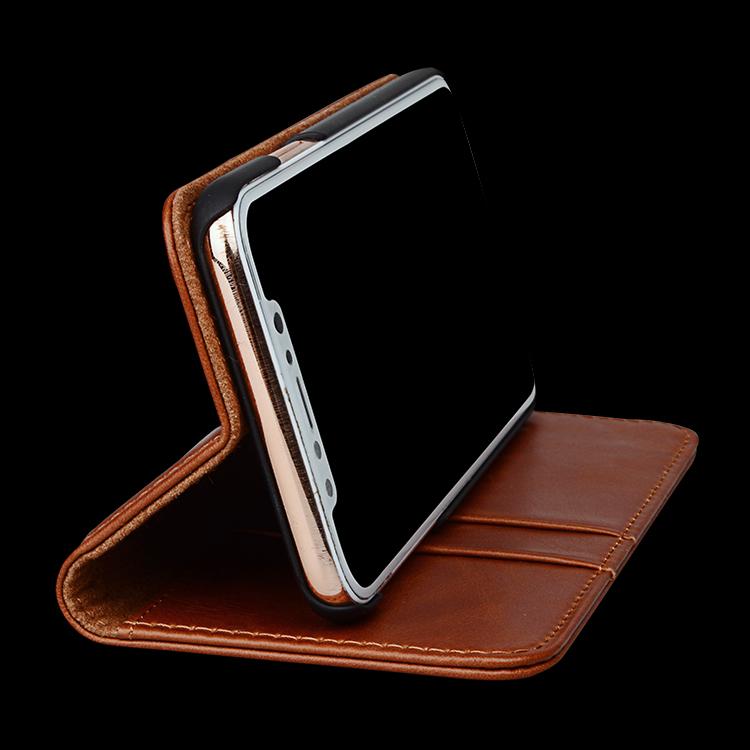 AIVI durable apple original leather case protector for iphone 8 / 8plus-5