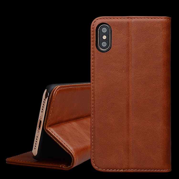 AIVI durable apple original leather case protector for iphone 8 / 8plus-7