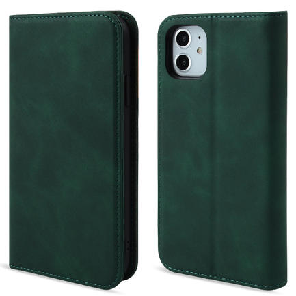 PU Leather phone Wallet Phone Case With Credit Card Slots card bags for Iphone 11 Pro Max