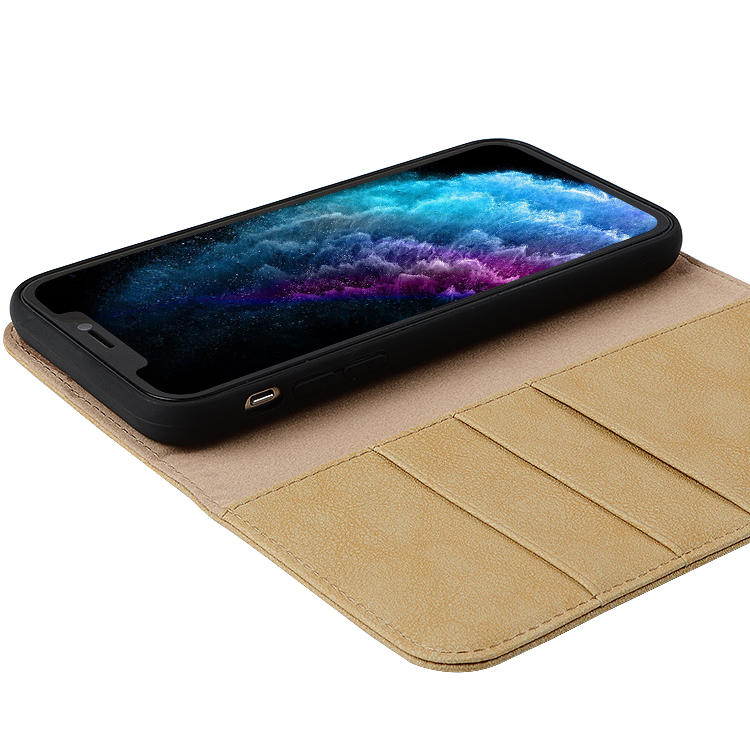 Leather Back Phone Case For Iphone 11,Wallet Case For Iphone 11