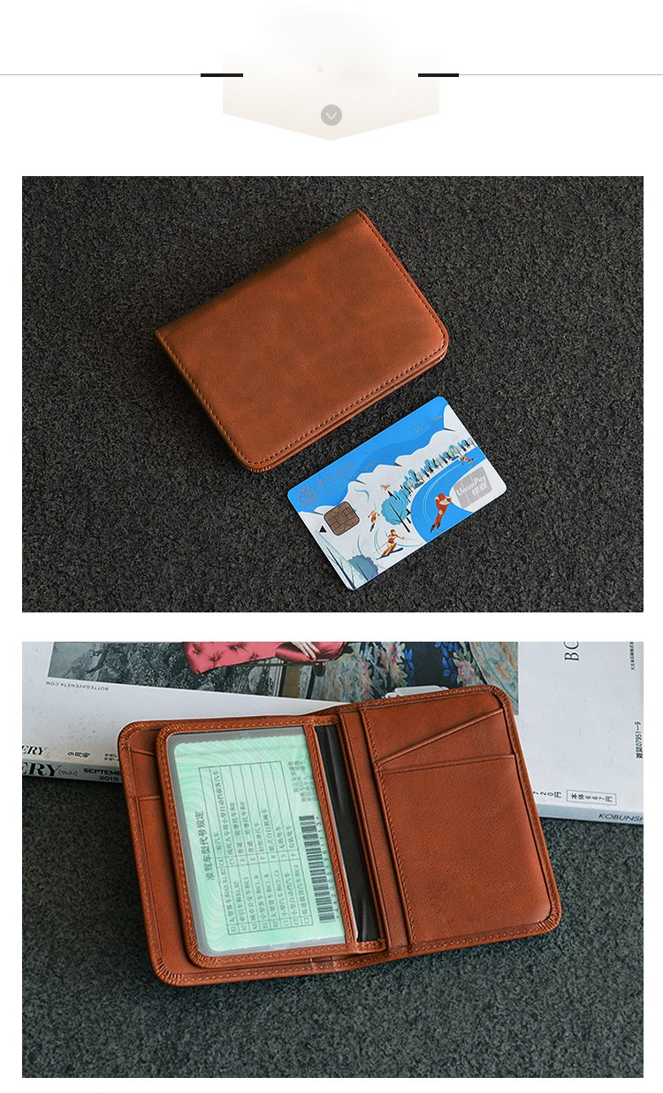 AIVI customized leather card case wallet for sale for ipone 6/6plus-9