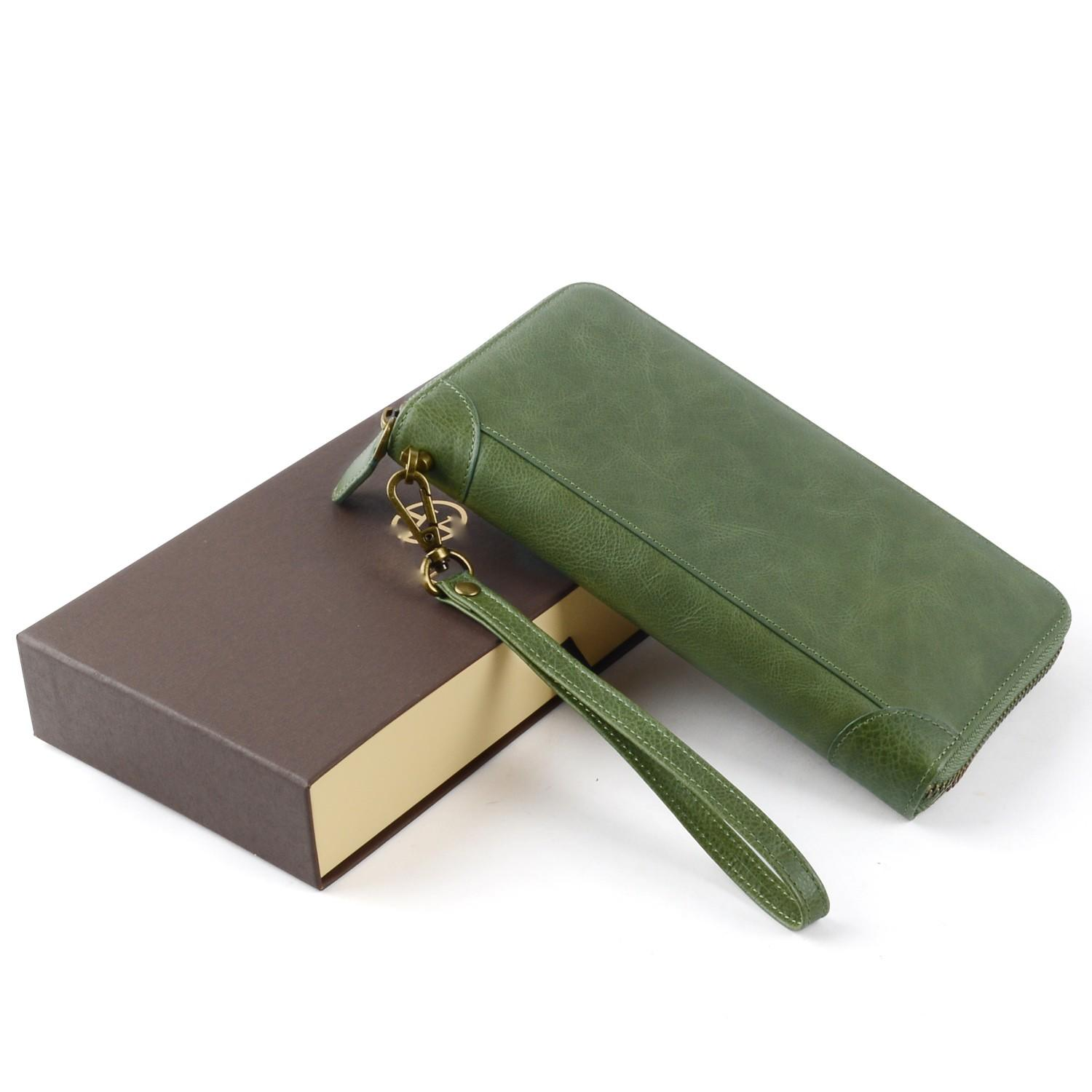 AIVI leather credit card wallet supply for ipone 6/6plus