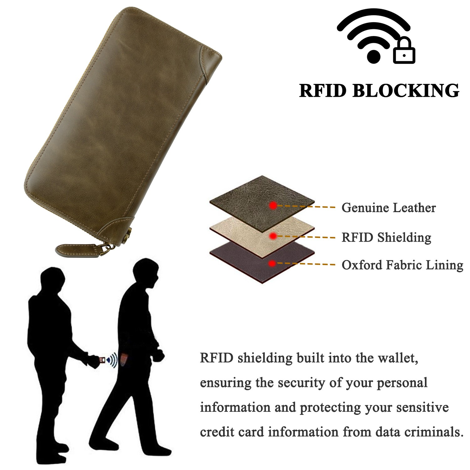 AIVI leather card holder wallet mens manufacturer for phone XS Max-7