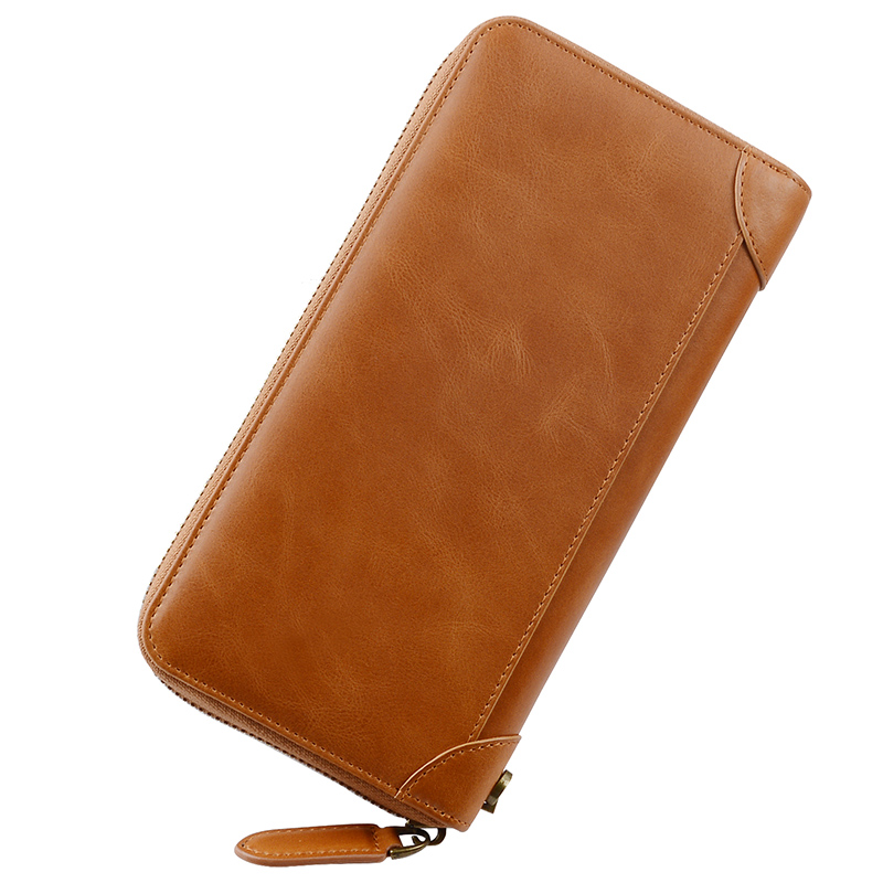 durable leather card case wallet for sale for iphone 8 / 8plus-1