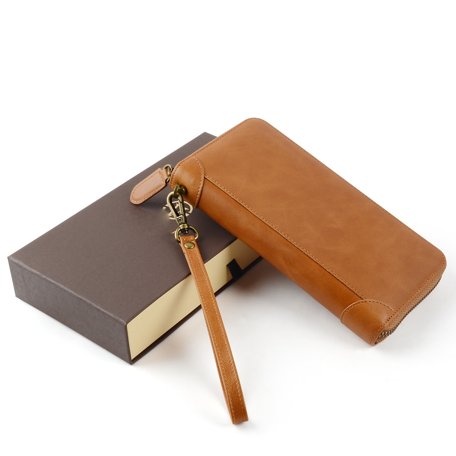 personalized leather card holder wallet manufacturer for iphone X-8