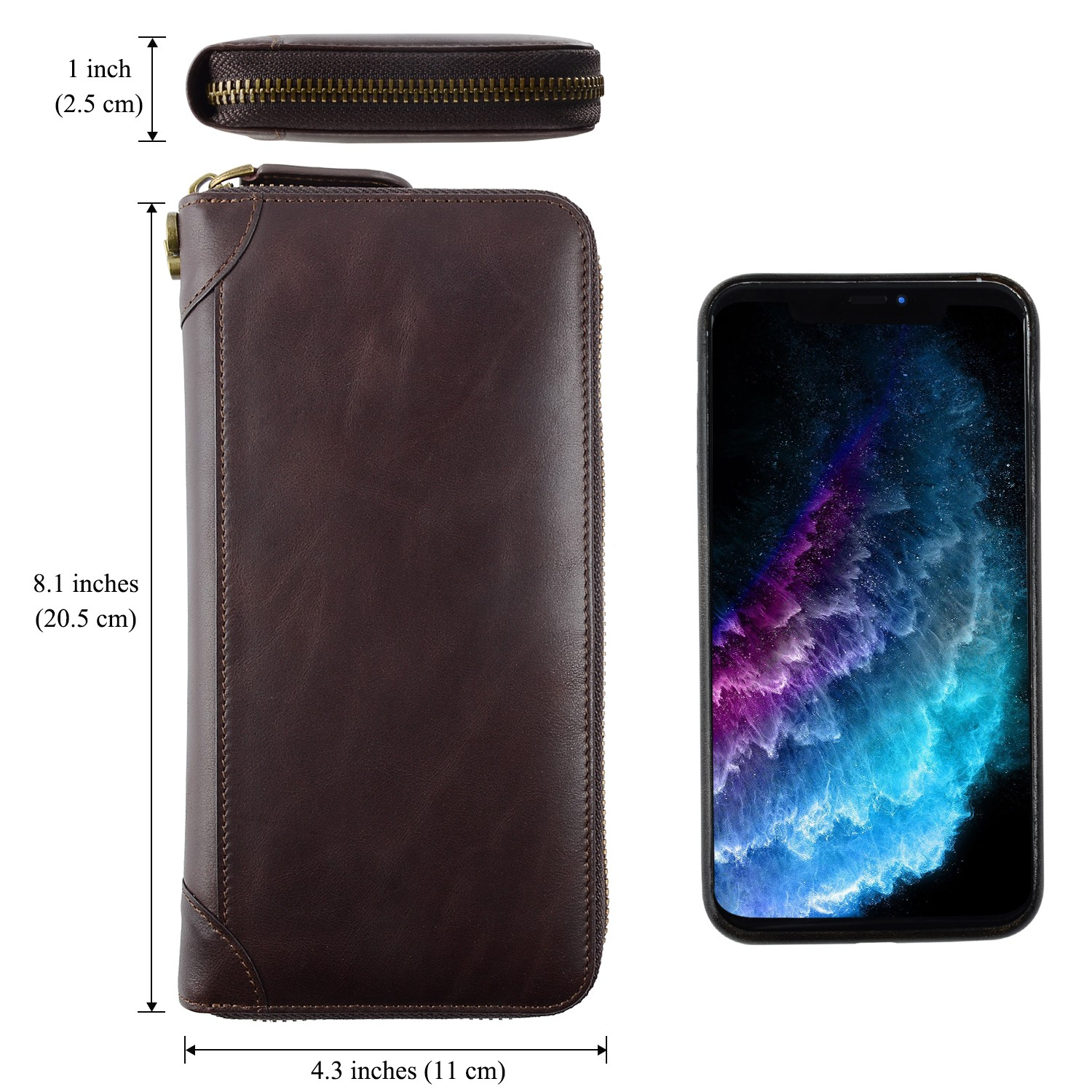 AIVI convenient leather card wallet factory for iphone 7/7 plus-6