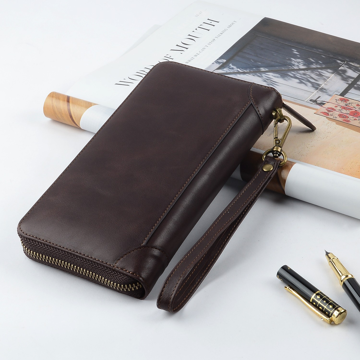 AIVI convenient leather card wallet factory for iphone 7/7 plus-7