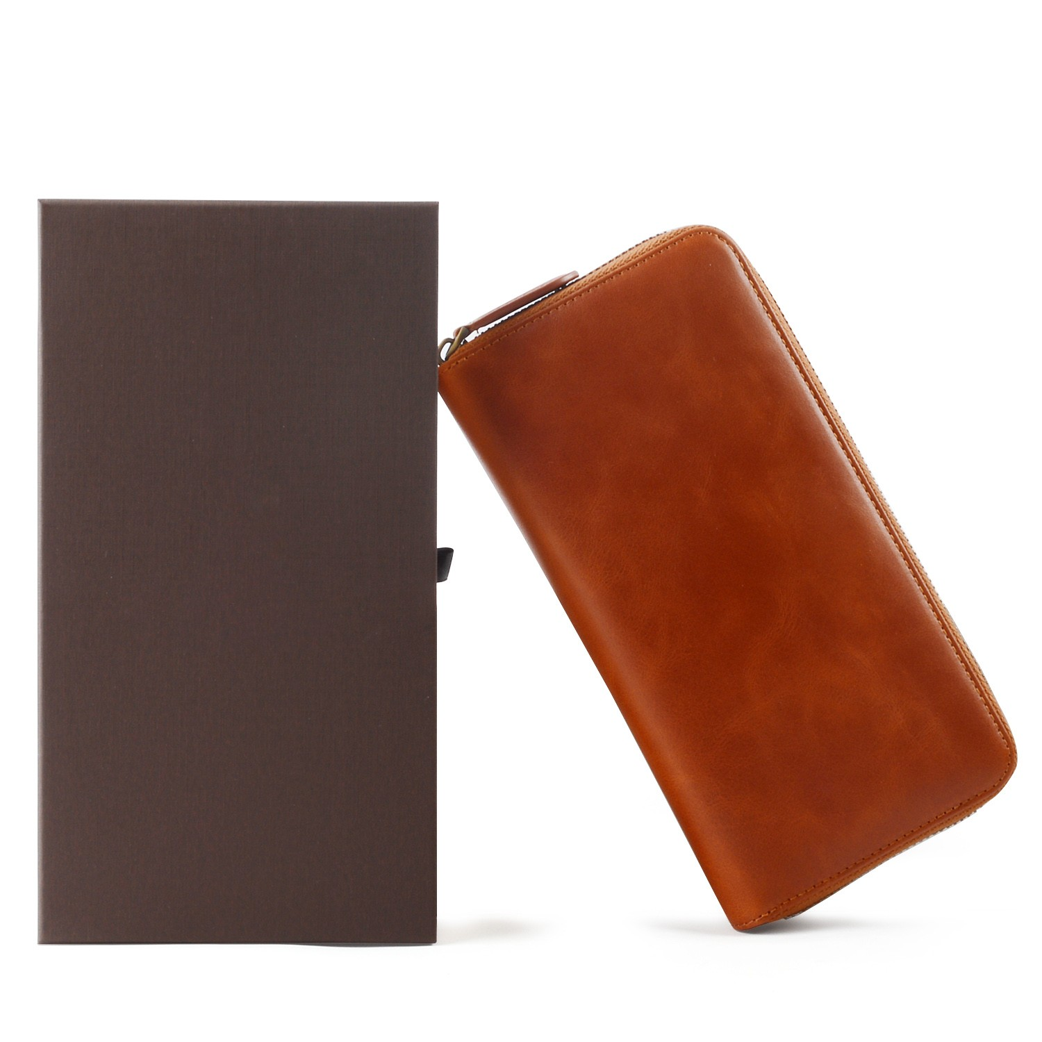 reliable leather card case wallet manufacturer for iphone X-8