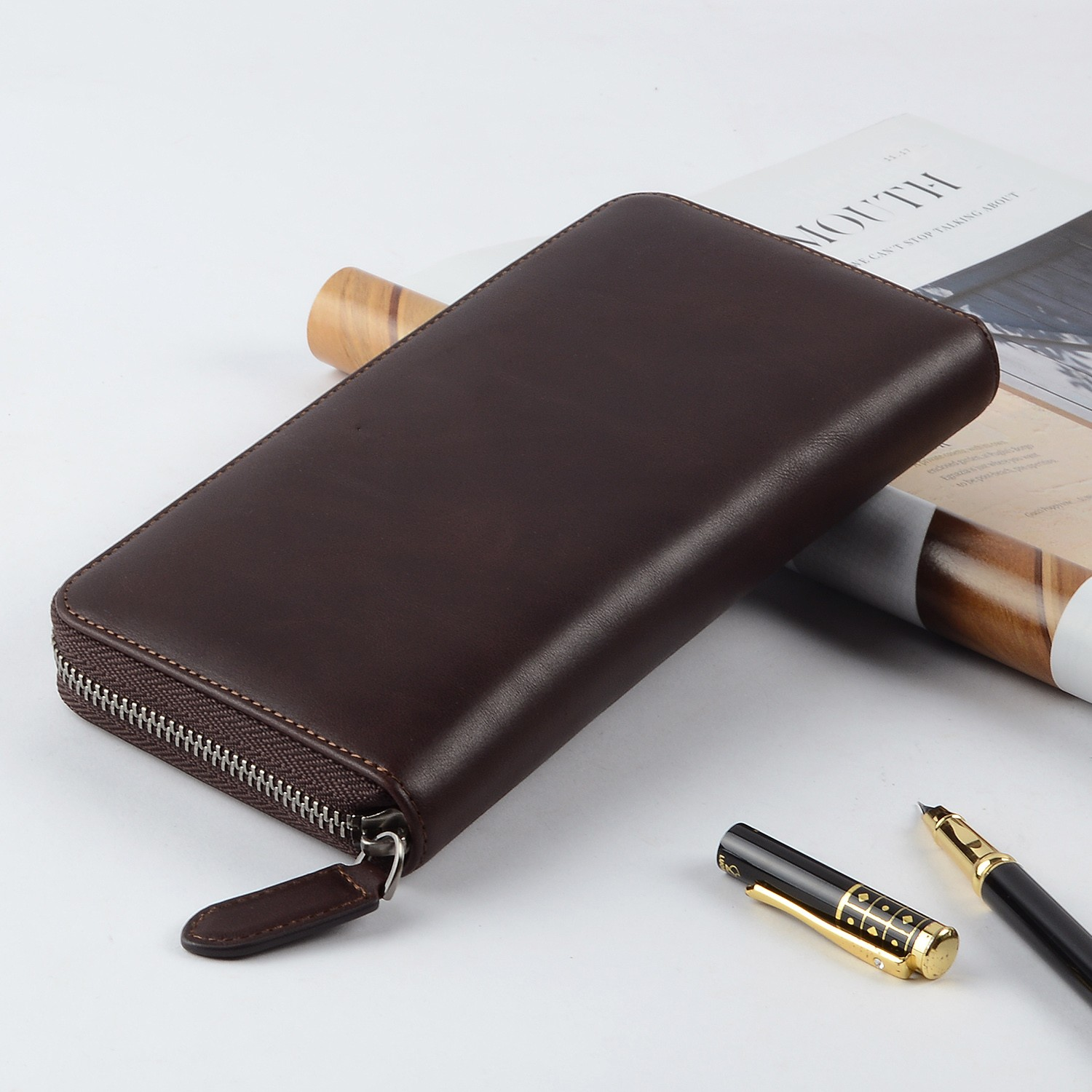 AIVI leather card holder wallet supply for iphone 8 / 8plus-6