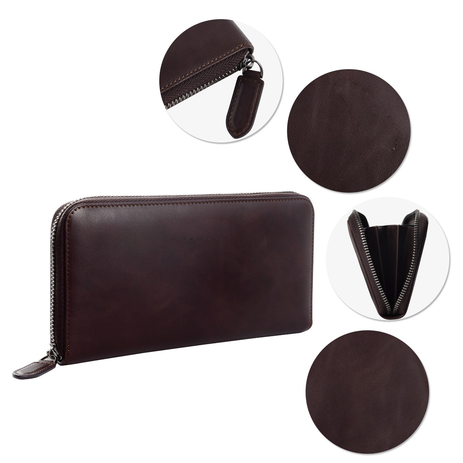 AIVI high quality leather card wallet for sale for iphone XR-8