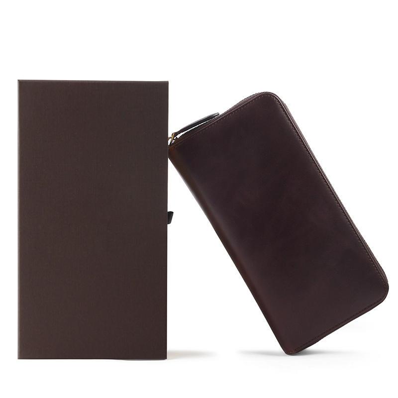 Top Grain Leather Women Wallet, Women Wallet Genuine Leather