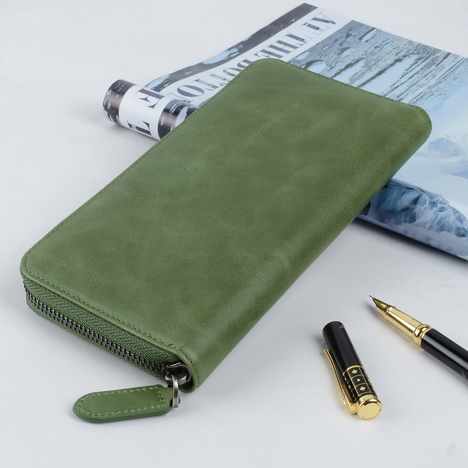 AIVI multifunction leather card case wallet supply for ipone 6/6plus-6