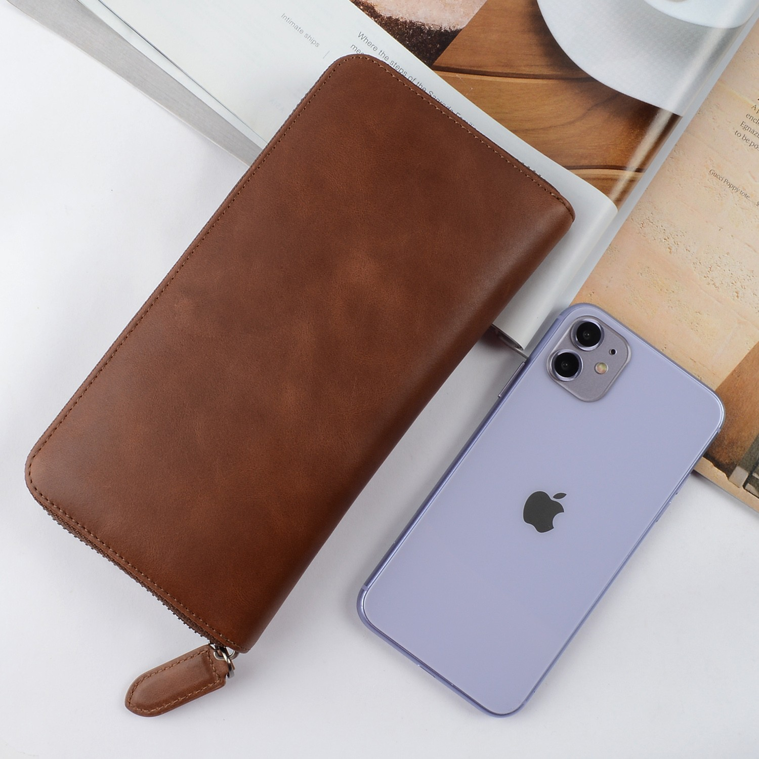 AIVI leather card wallet online for iphone 7/7 plus-4
