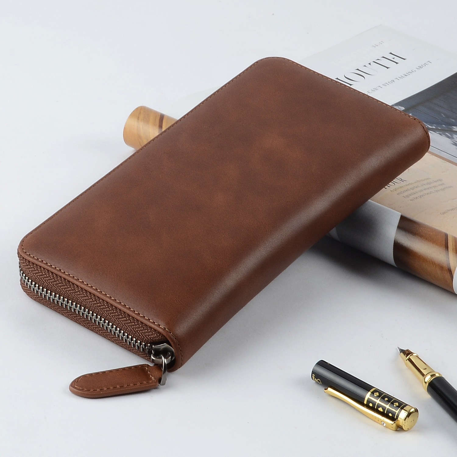 AIVI unisex leather card wallet for sale for ipone 6/6plus-6