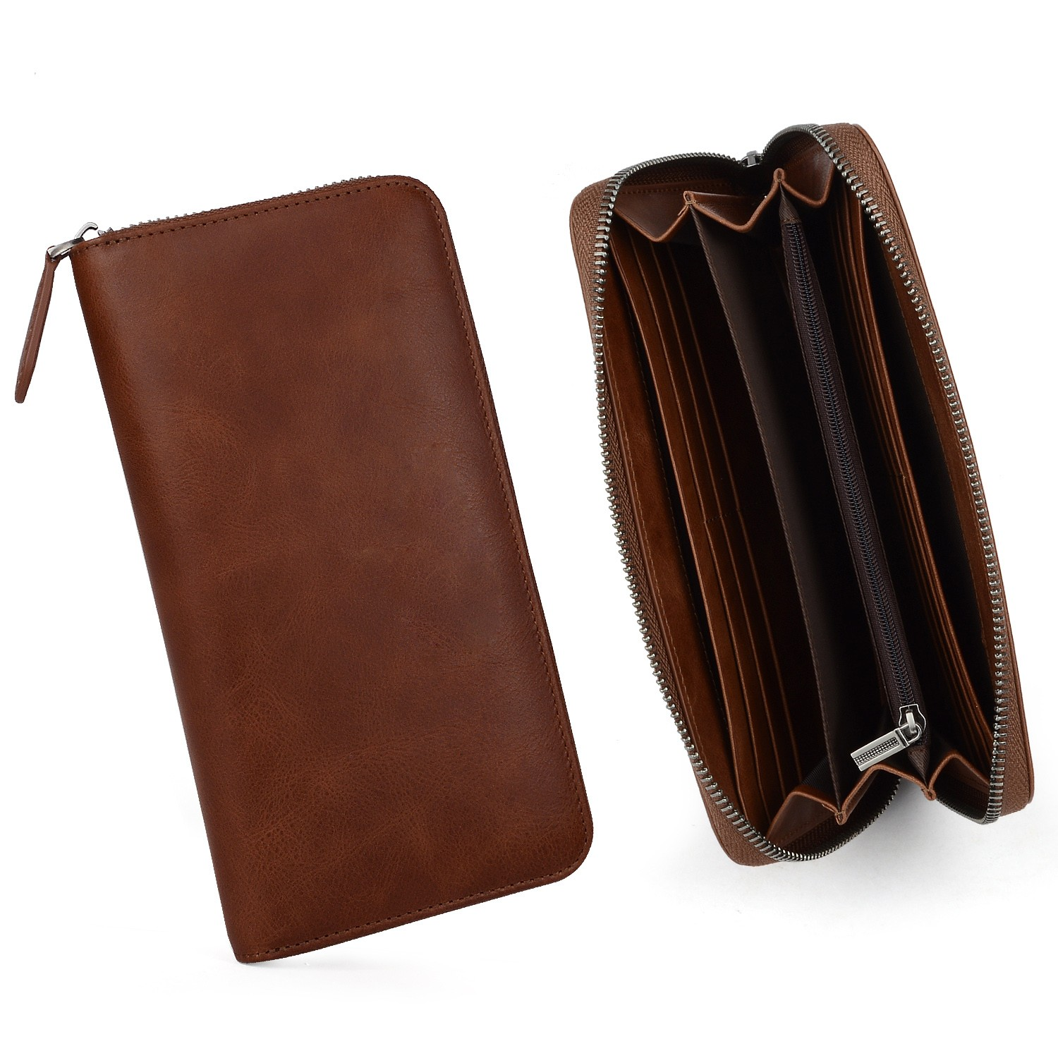 AIVI unisex leather card wallet for sale for ipone 6/6plus-8