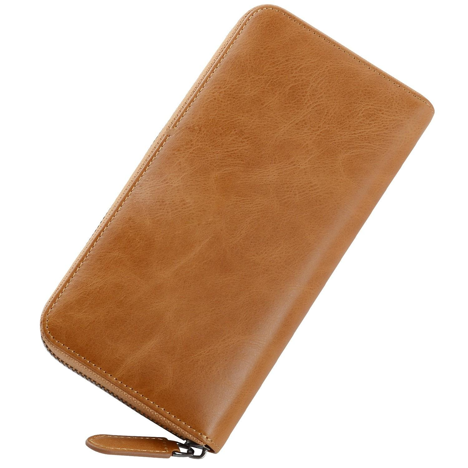AIVI mens leather wallet with coin pocket online for ipone 6/6plus