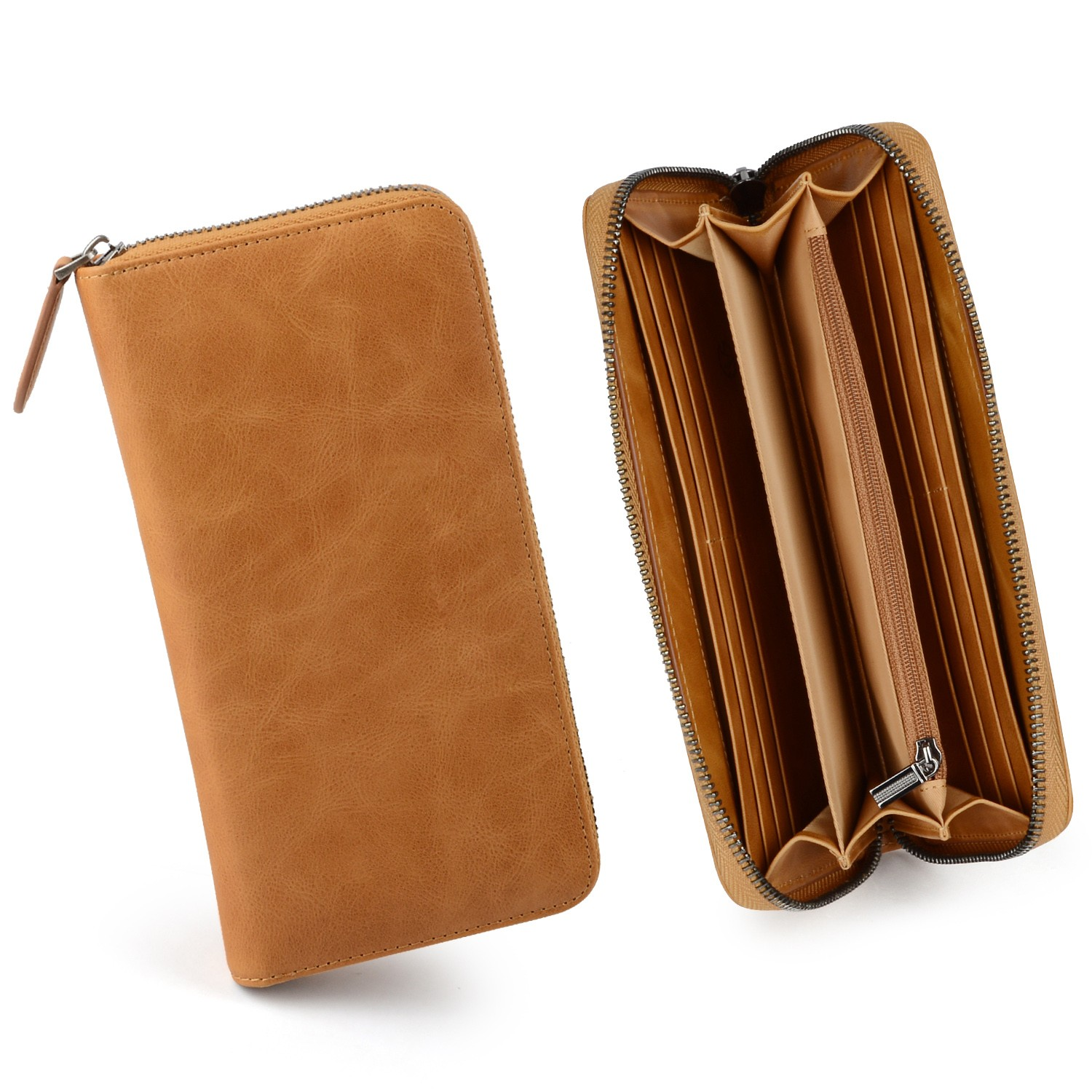 AIVI mens leather wallet with coin pocket online for ipone 6/6plus-8