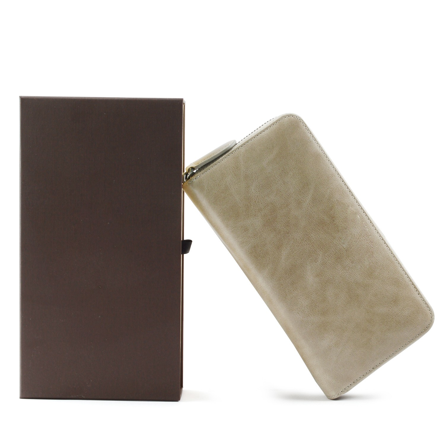 beautiful mens leather wallet with coin pocket for sale for iphone XS-7
