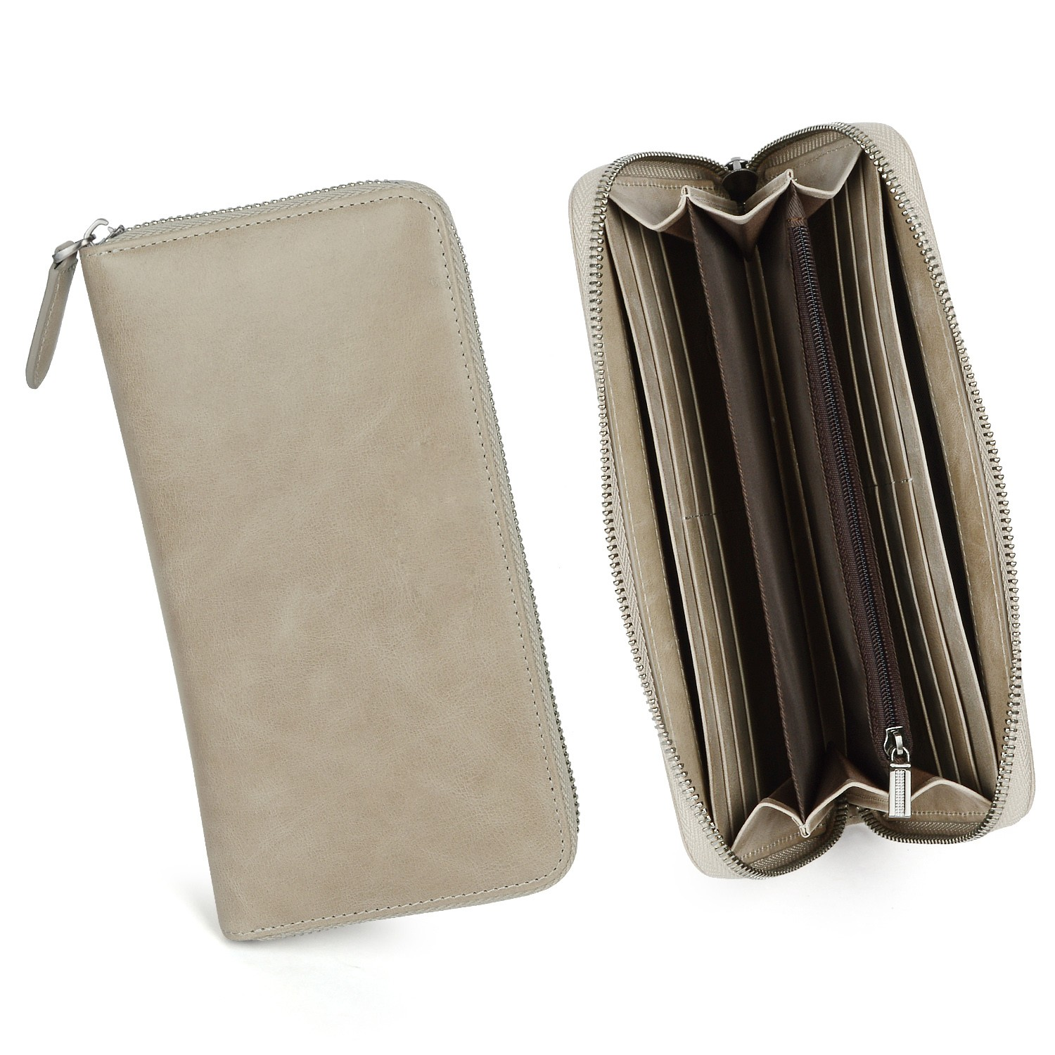 beautiful mens leather wallet with coin pocket for sale for iphone XS-8