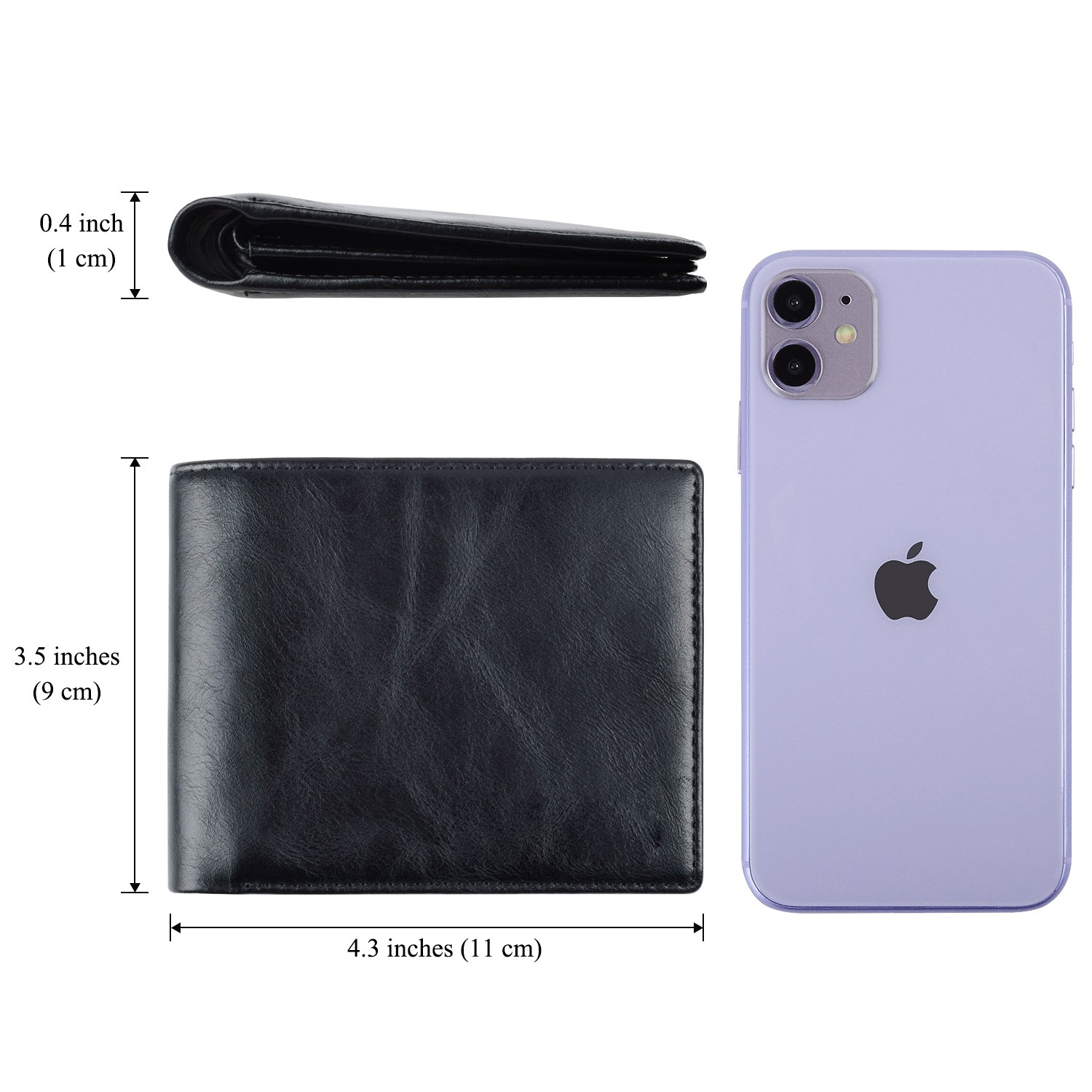 AIVI leather card case wallet supply for iphone XR-6