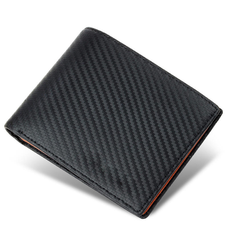 RFID luxury designer pouch credit card slots coin pocket Genuine Leather Purse Wallet Men With ID Window