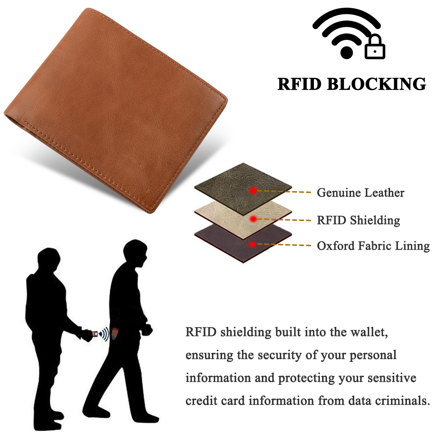 AIVI custom leather wallets for sale for travel-7