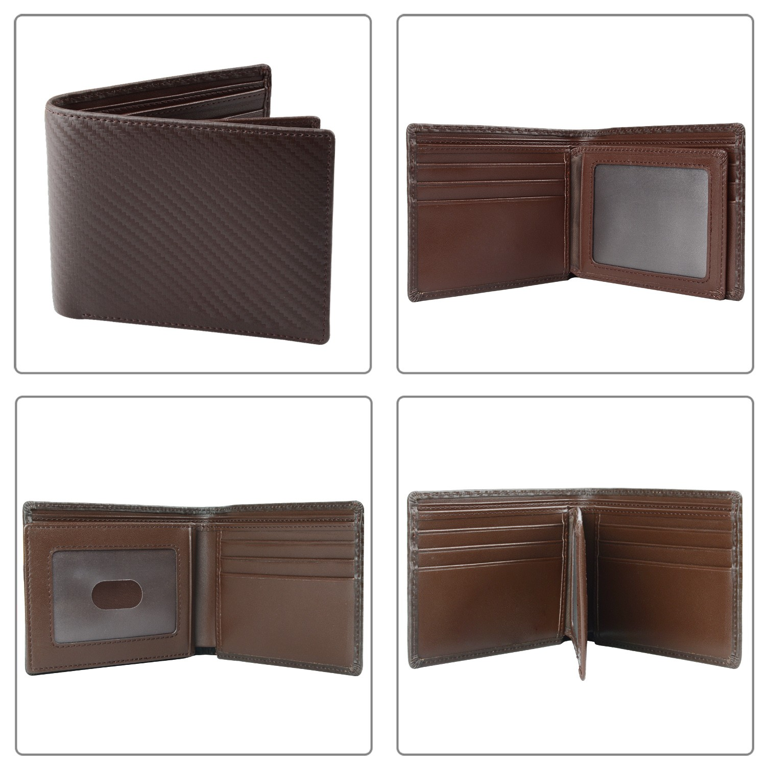 AIVI multi-function custom leather wallets for sale for men-4