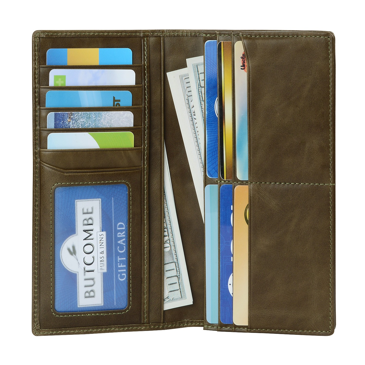 AIVI beautiful leather credit card wallet factory for iphone 8 / 8plus-4