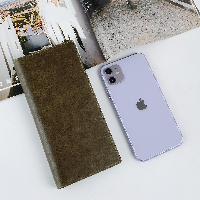 AIVI slim leather card holder wallet manufacturer for iphone XR-5