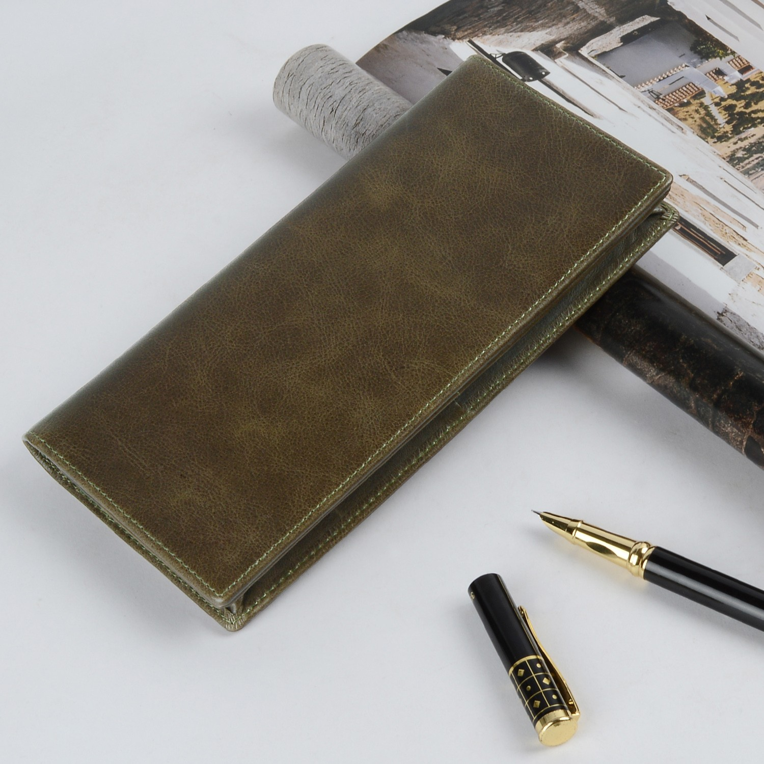 AIVI beautiful leather credit card wallet factory for iphone 8 / 8plus-6
