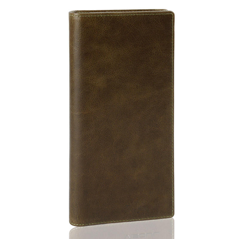 New Design Vintage Durable Original Real Cow Leather Women Wallet