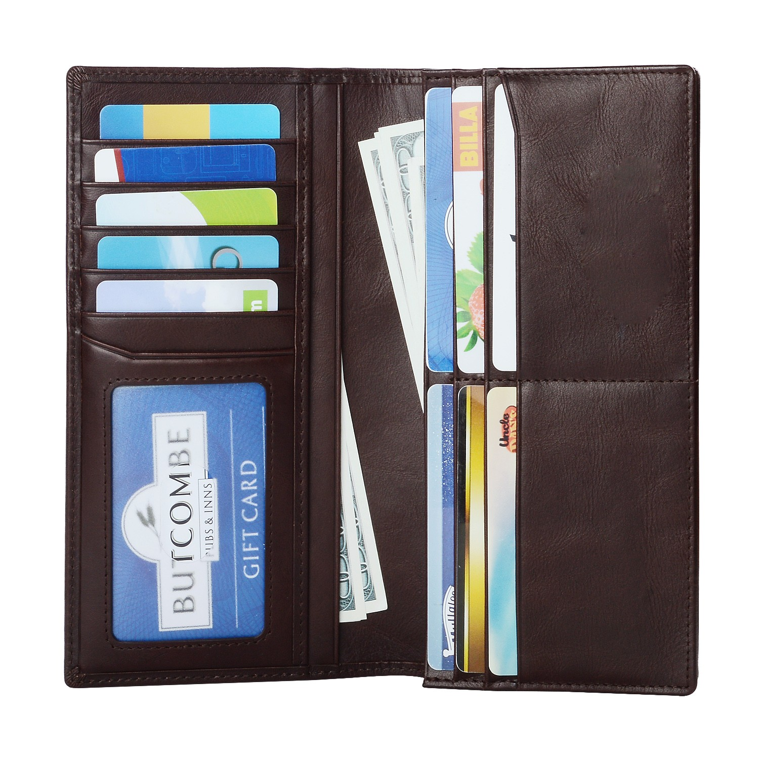 personalized leather card wallet for sale for ipone 6/6plus-4
