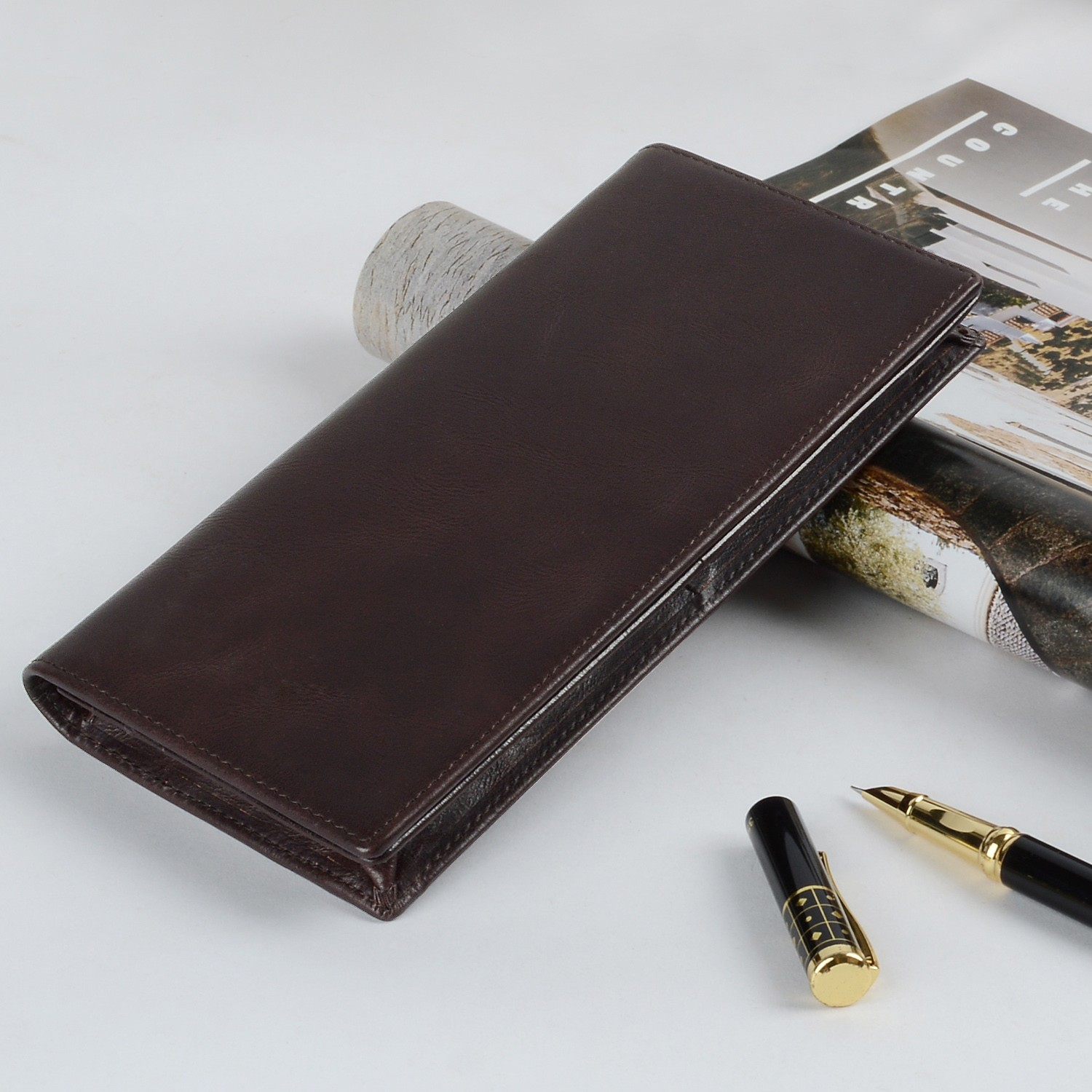 AIVI leather card wallet factory for iphone 8 / 8plus-6