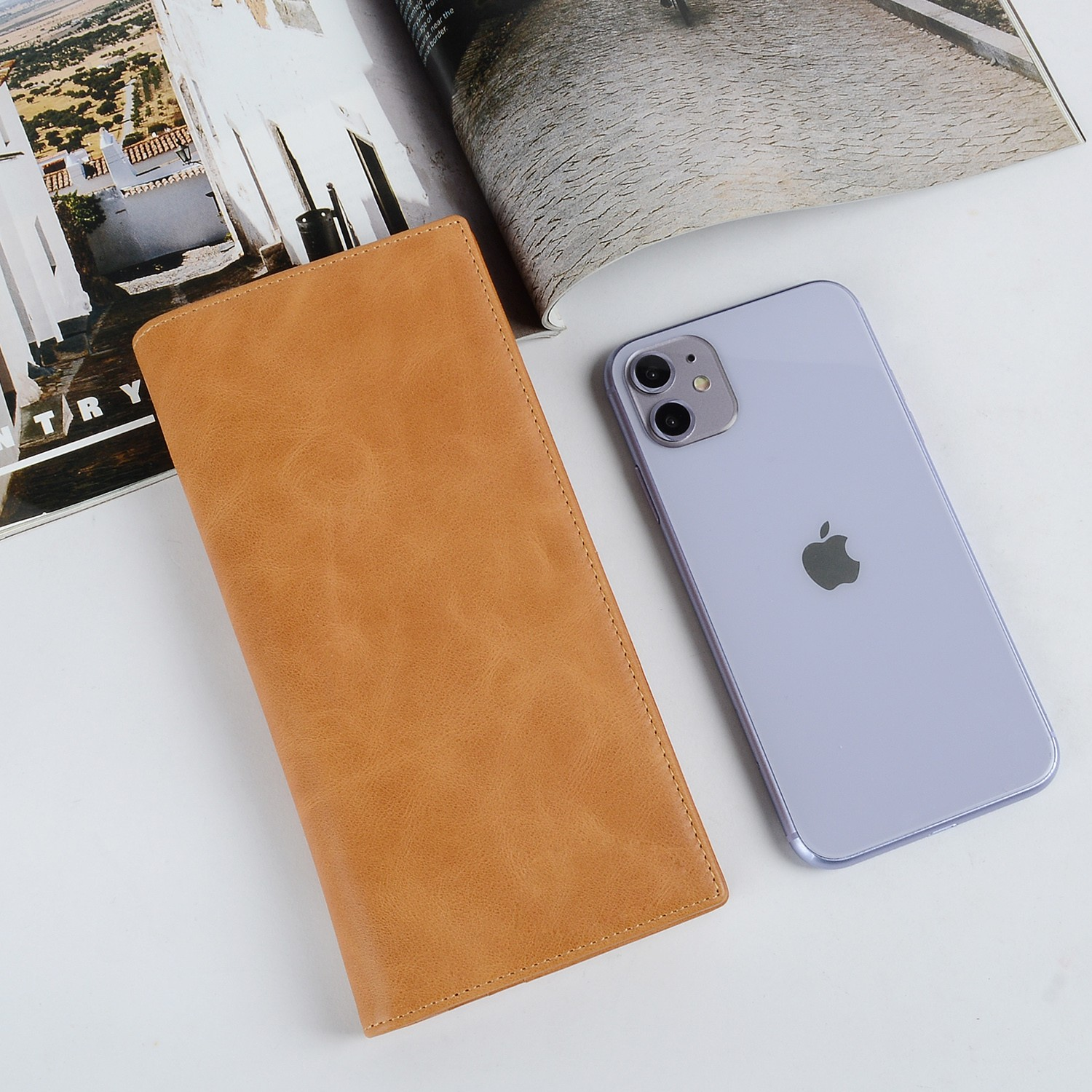 AIVI leather card holder wallet manufacturer for phone XS Max-5
