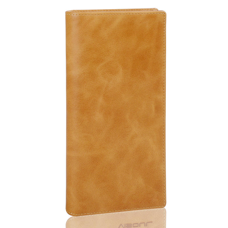 Business Style Wallet Genuine Leather Long Wallet For Women