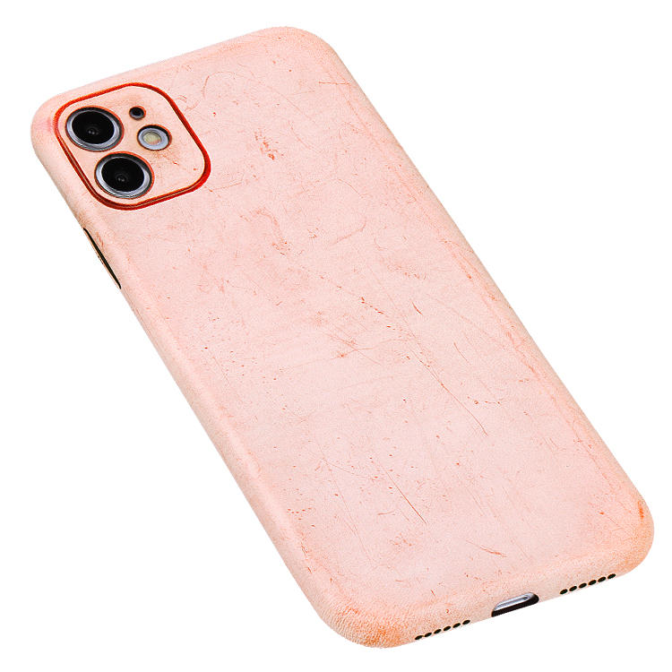 Super Light Natural Vegetable Tanned Leather Mobile Phone Case Customized Phone Case For Iphone 11 Pro/iphone 11