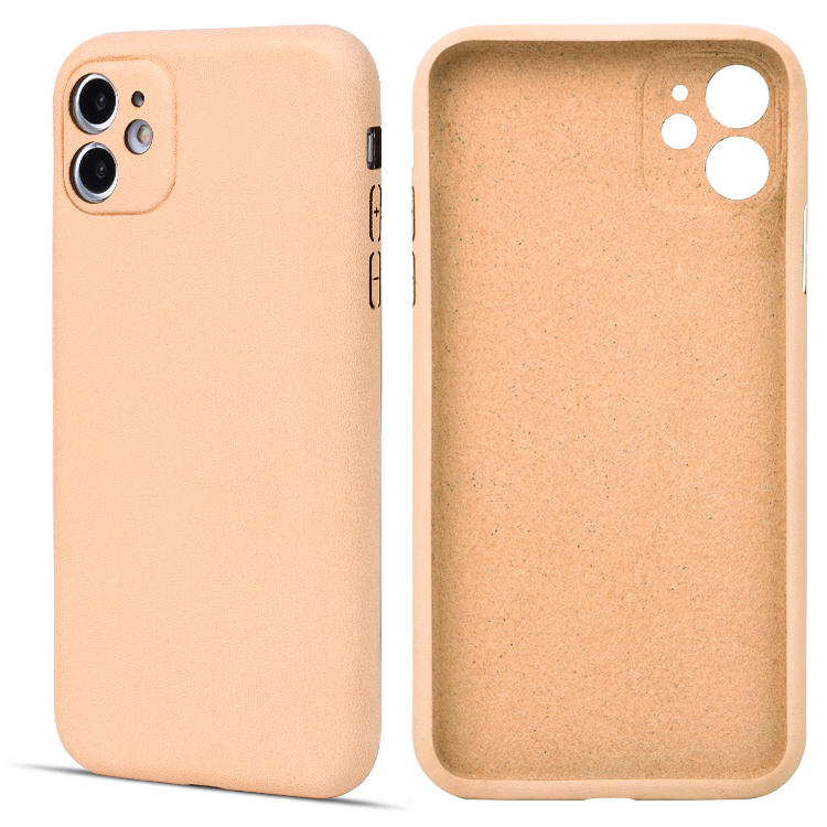 Vegetable Tanned Leather Customized Mobile Phone Case For iphone 11 pro/iphone 11/iphone 11 pro max