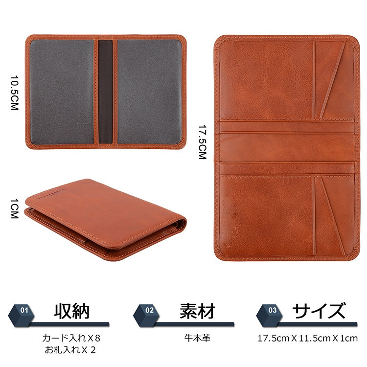 AIVI reliable leather credit card wallet supply for phone XS Max-7