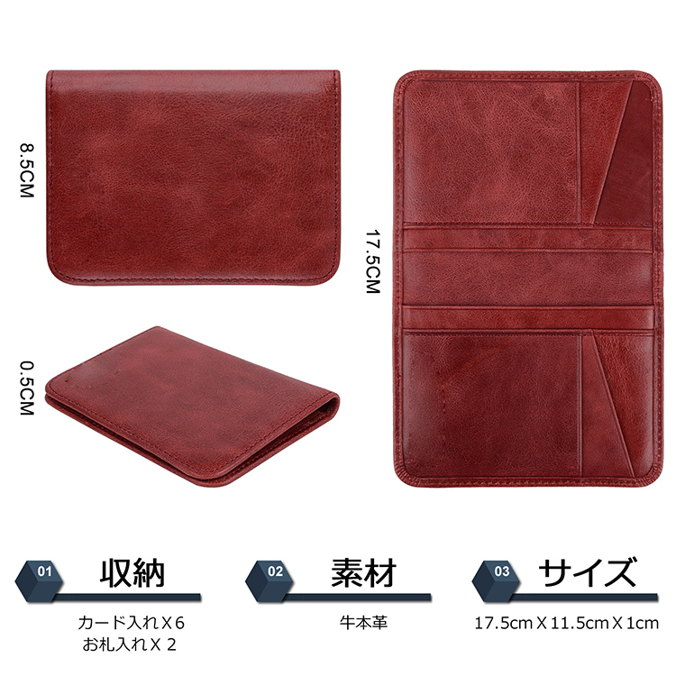 beautiful leather credit card wallet online for phone XS Max-4