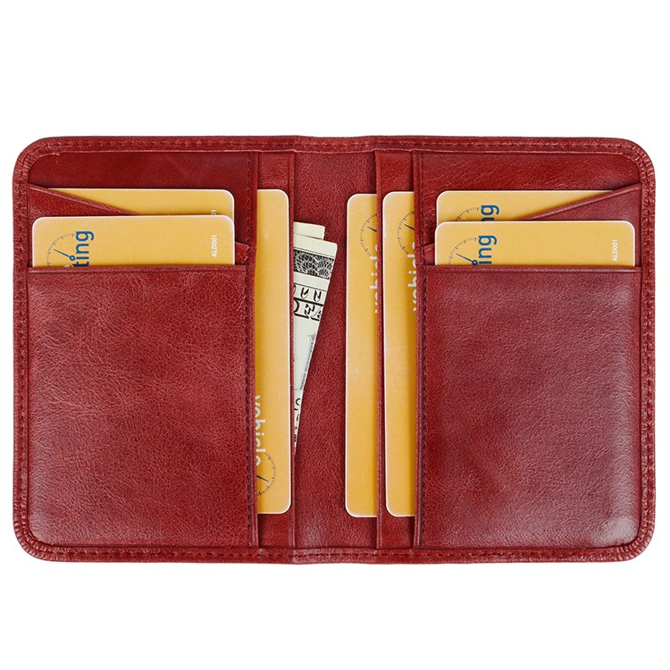 reliable leather card wallet manufacturer for iphone X-9