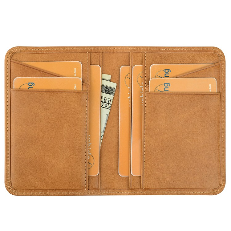 easy carry leather credit card case manufacturer for ipone 6/6plus-2
