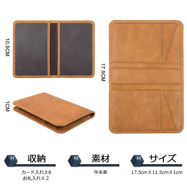 easy carry leather credit card case manufacturer for ipone 6/6plus-7