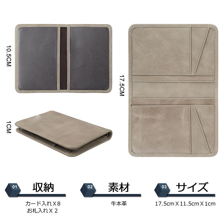 multifunction leather credit card case supply for iphone XS