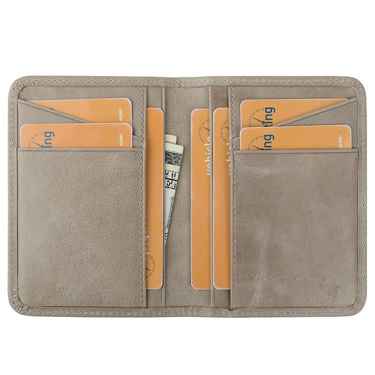 Luxury FashionMens Wallet Custom RFID Genuine Leather ID Card Holder Wallets
